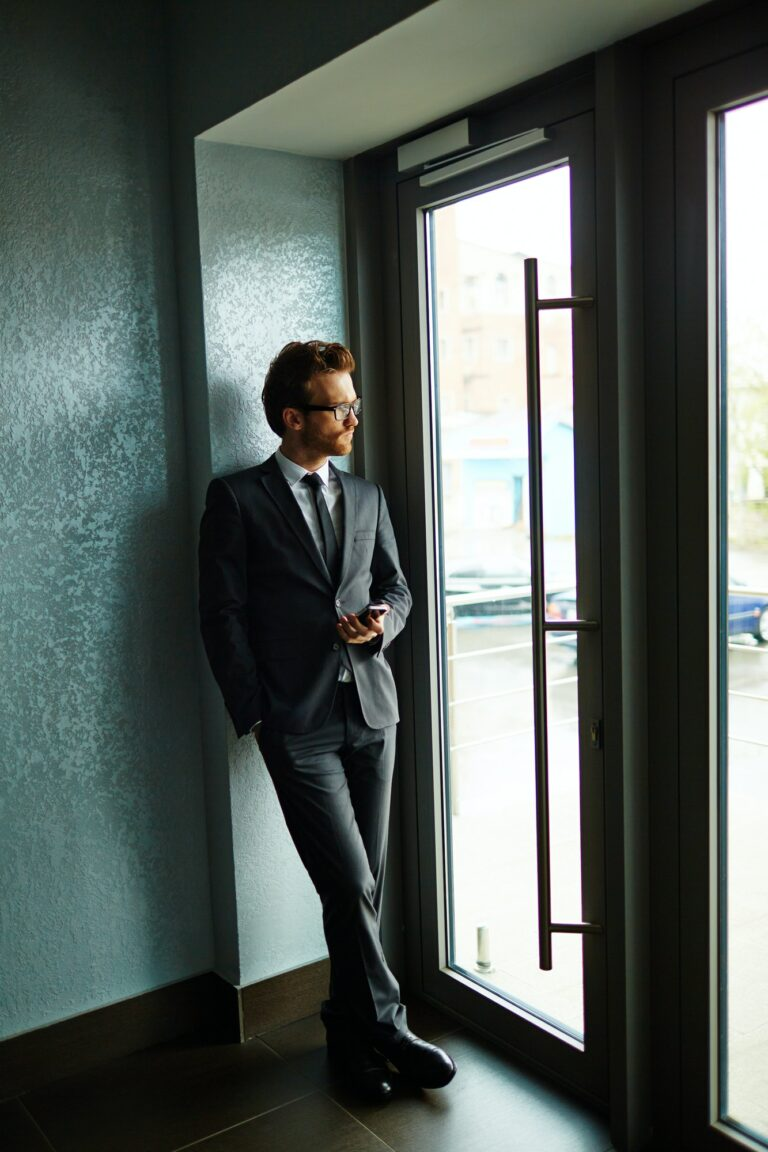 Entrepreneur by the door